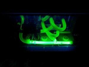 водяное охлаждение компьютера