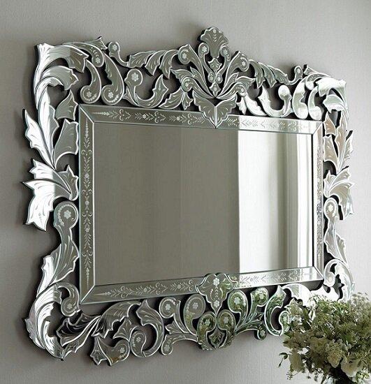 Как украсить свое зеркало