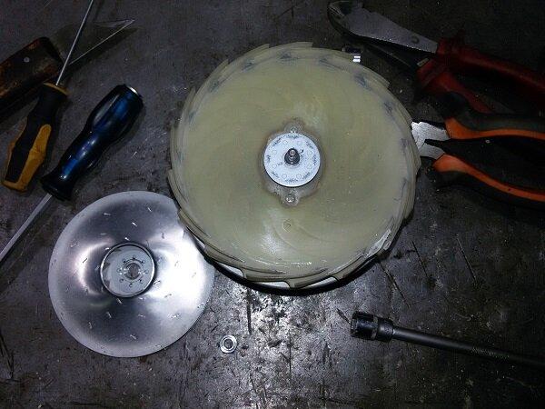 Как разобрать мотор пылесоса