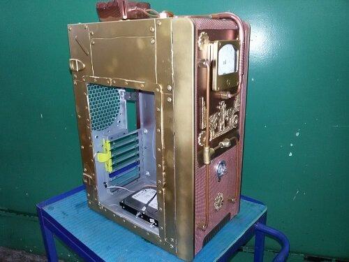 стимпанк компьютер