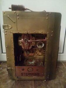 компьютер в стиле стимпанк