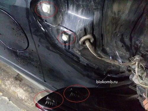 Сузуки SX4 задний фонарь