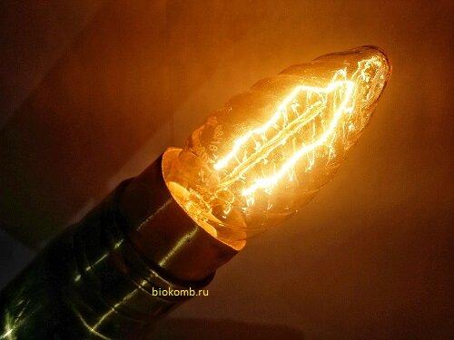 Делаем светильник из гильзы