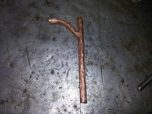 дерево из металла