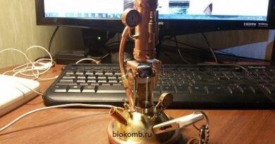 Steampunk USB удлинитель
